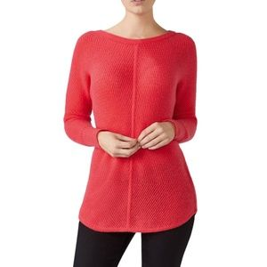 Pure Collection | 100% Cashmere Coral Sweater Sz 6